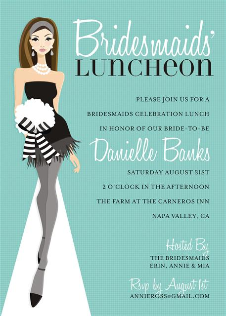 Bridal Showers and Parties