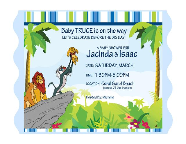 Lion king baby shower invitations 11 all invitations are available in paper only filmwisefo Choice Image