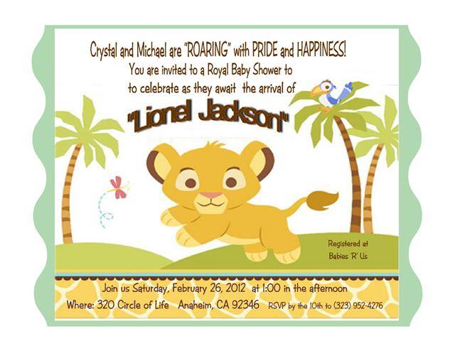 15 baby simba lion king invitation purchase your card invitation filmwisefo Gallery